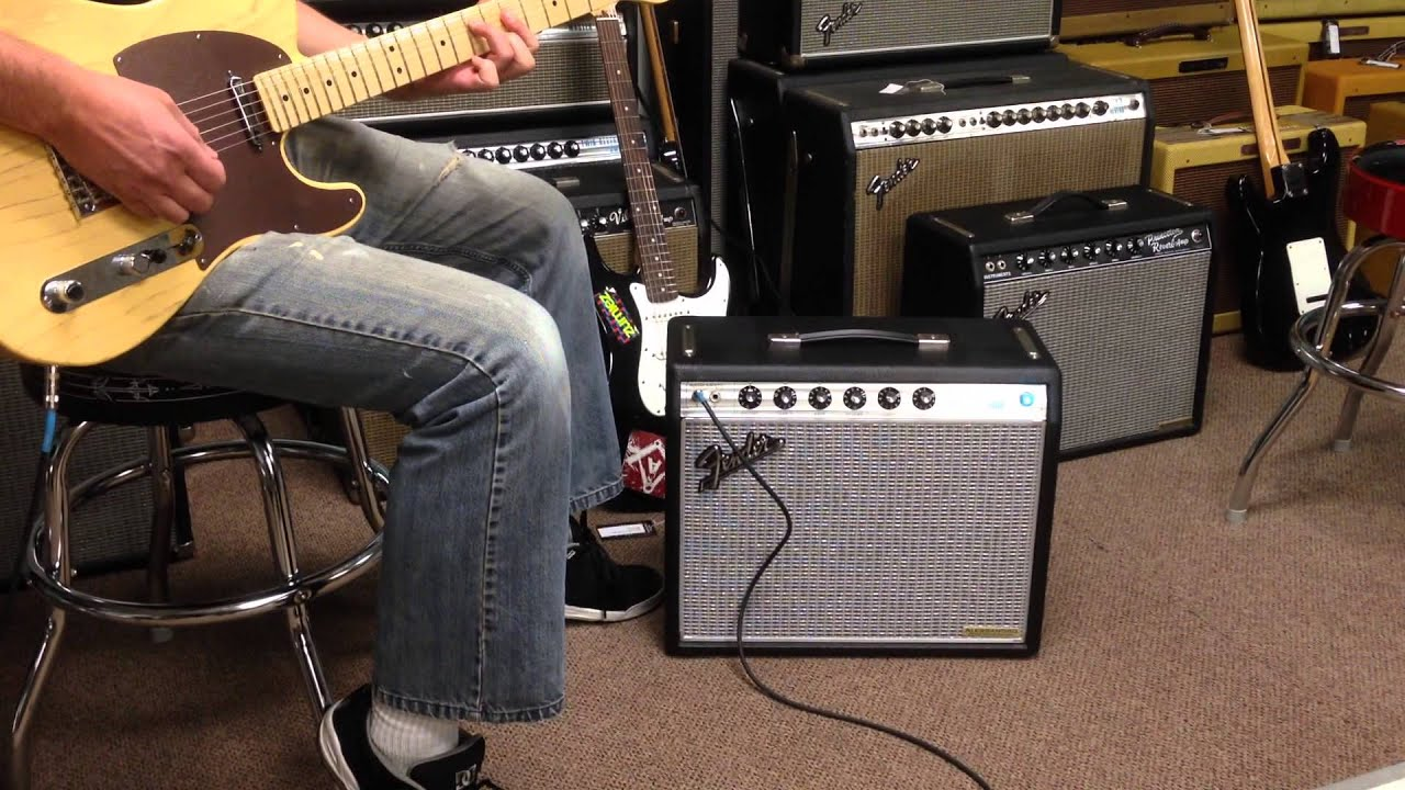 Fender Silverface 68 Princeton Reverb Reissue Amp Handwired By George