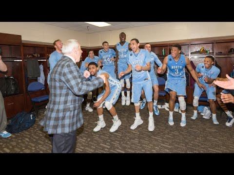 Unc Men S Basketball Locker Room Celebration Post