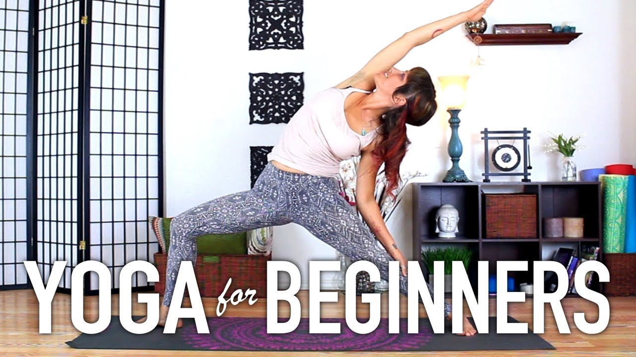 Yoga For Beginners 30 Minute Full Body At Home Yoga Workout Youtube
