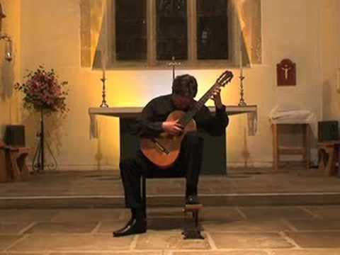 Paul Gregory. 'El Mestre'. Arr Llobet. Torres Guitar (1890)