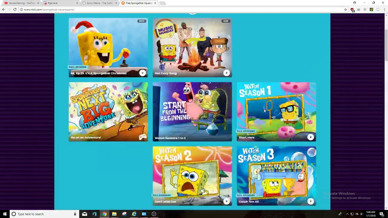 How to watch the Nickelodeon locked full episodes free (Oudated!)