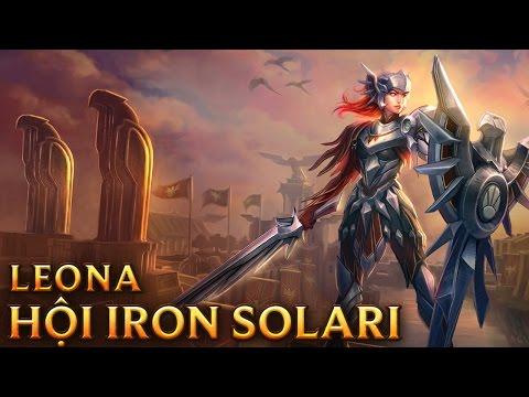 Iron Solari Leona - Skins lol