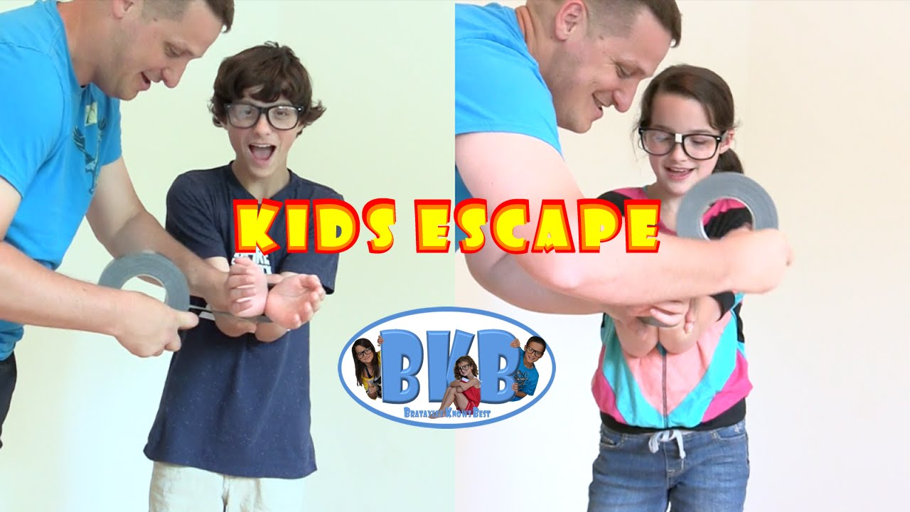 Bratayley knows how to escape kids escape from zip ties and duct bratayley knows how to escape kids escape from zip ties and duct tape bkb youtube ccuart Image collections
