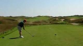 Joe B. - 1st Hole - Irish Course at Whistling Straits