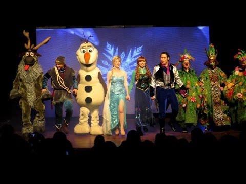 musical frozen uma aventura congelante teatro youtube