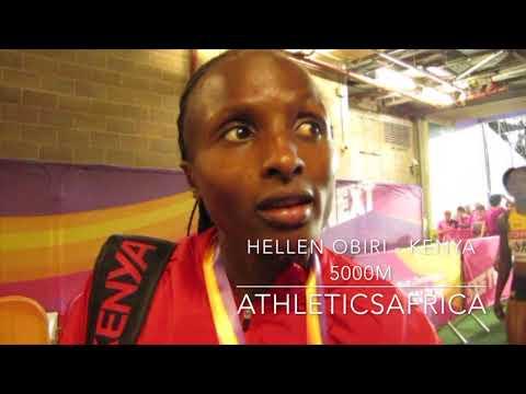 Hellen Obiri (Kenya) wins 5000m Women Final - IAAF World Championships London 2017