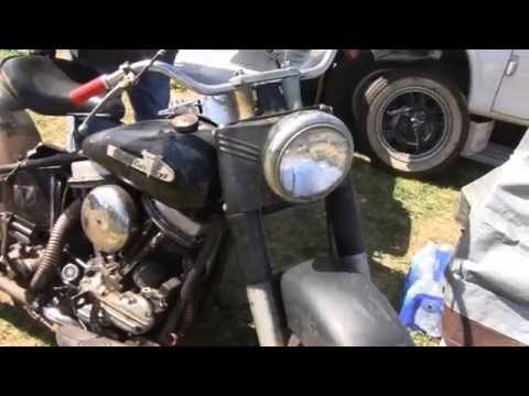 ANTIQUE MOTORCYCLE SWAP MEET (Part 1)
