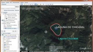Aprendiendo a usar Google  Earth Pro parte 1