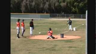 Catchers Drills, Orioles Minor Leagues, 2013 Spring Training