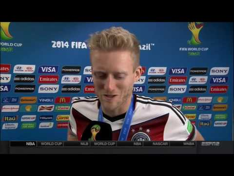 André Schürrle Winning Post Match Interview | LIVE 7 13 14
