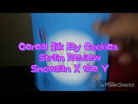 Cereal Milk By Cookies #powerzzzup #berner415 #cookies805 @powerzzzup