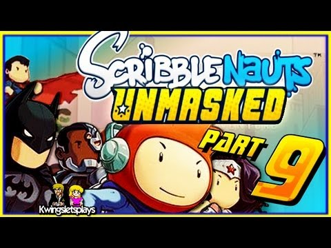 Scribblenauts Unmasked! Episode 9 The Flash Central City
