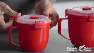 видео Контейнер для СВЧ для приготовления макарон