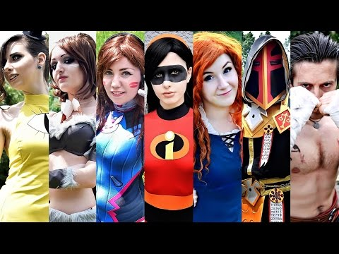 [AnimeS Expo] Cosplays 2016 - Dancing - Cosplay Panel (Sofia / Bulgaria / 25-26.06.2016)