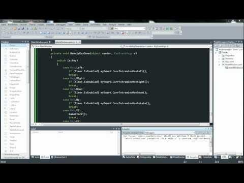 Tetris C# WPF Tutorial Teil 8