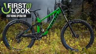 Kona's New DH Bike - 2017 Operator First Look