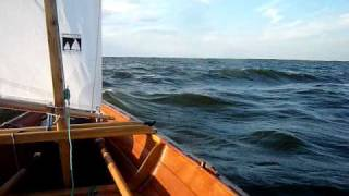 Clc's 17' Northeaster Dory - Downwind
