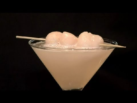 How to Make a Lychee Drink : Cocktails & Mixology