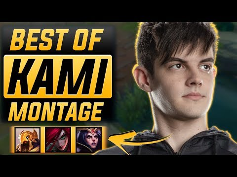 "Kami ""Brazilian Faker"" Montage 2017 (Best Of Kami)   League of Legends"