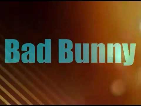 Sexto sentido | bad bunny 2017
