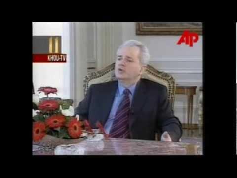President Slobodan Milošević about US-NATO imperialist aggression against FR Yugoslavia.