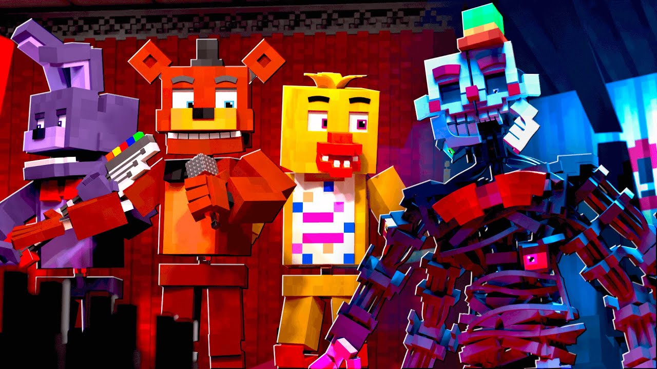"""Download """"Hidden in the Sand"""" FNAF Minecraft Animation Music Video (Song by Tally Hall)"""