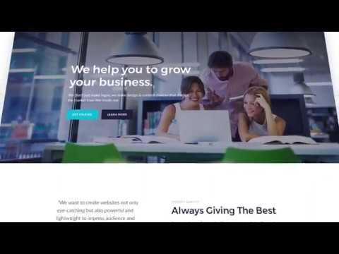 HTML шаблон для бизнеса Intellect