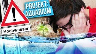 Überflutungsgefahr! - Projekt: Aquarium