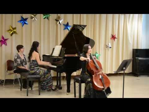 Franck Sonata for Cello and Piano in A Major (2/2)