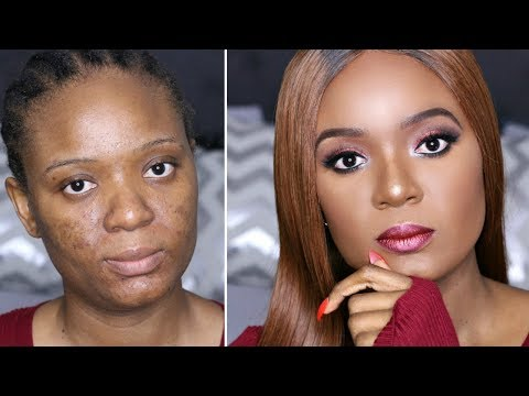 CHIT CHAT : GRWM   ABANDONED AT AN EARLY AGE   SAY NO TO DOMESTIC VIOLENCE - HAIR & MAKEUP EDITION!