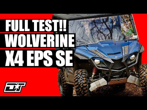 Full Review of the 2019 Yamaha Wolverine X4 EPS SE
