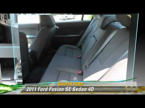 2011 Ford Fusion Se Galpin Ford North Hills Youtube
