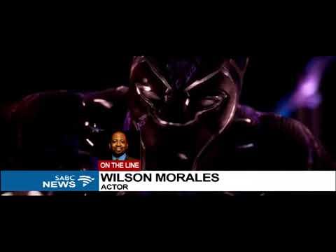 American Actor Wilson Morales speaks on the movie Black Panther