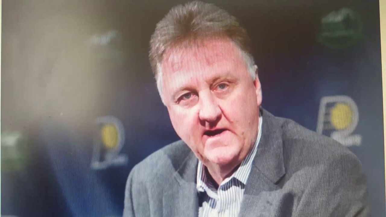 Larry Bird to step aside as Indiana Pacers president