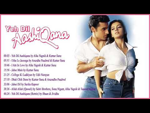 Yeh Dil Aashiqana Movie Songs -  Full Album  - Bollywood Songs   Karan Nath, Jividha, Nadeem Shravan