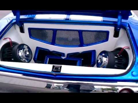 LS1 CONVERTIBLE CHEVELLE CUSTOM SOUND SYSTEM YouTube