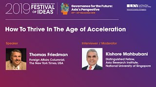 Festival Of Ideas 2019  How To Thrive In The Age Of Acceleration