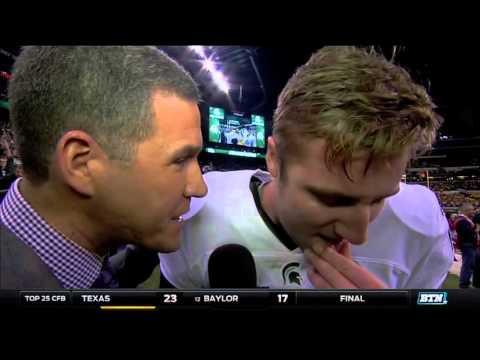 Connor Cook Talks Big Ten Football Championship