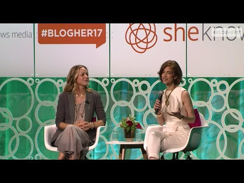 BlogHer17  The State Of Women And Girls  Maria Bello and Yasmeen Hassan