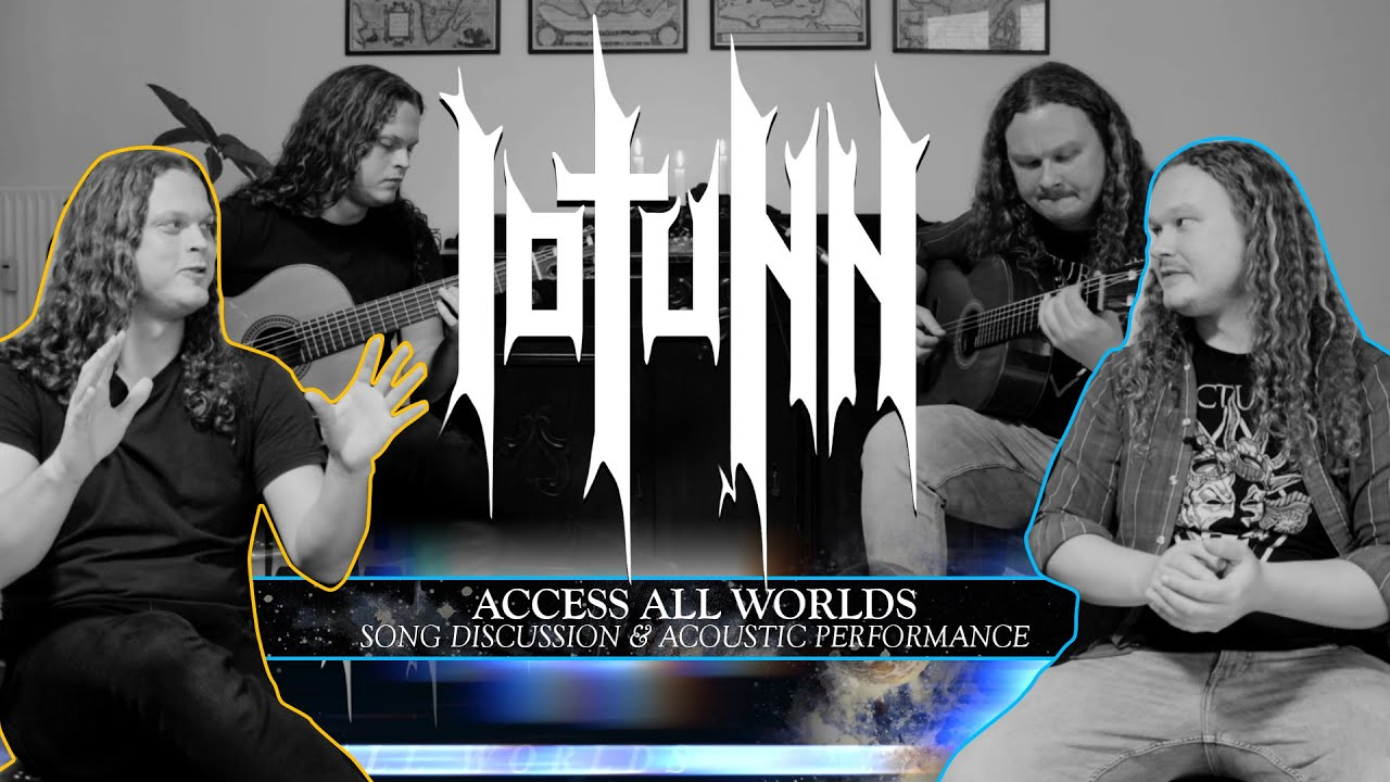 Iotunn - Access All Worlds - Song Discussion & Acoustic Performance