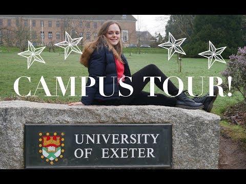 Exeter University: Campus Tour