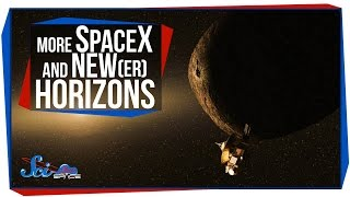 Another SpaceX Landing, and New Horizons's Next Stop