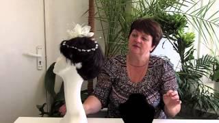 Видео-урок «Свадебная лилия из ткани». Ознакомительный фрагмент