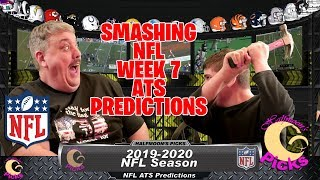 NFL Week 7 ATS Picks for the 2019-2020 Football Season