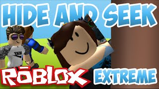 Hide And Sneak Extreme| ROBLOX| I'm notice and I rap!!!