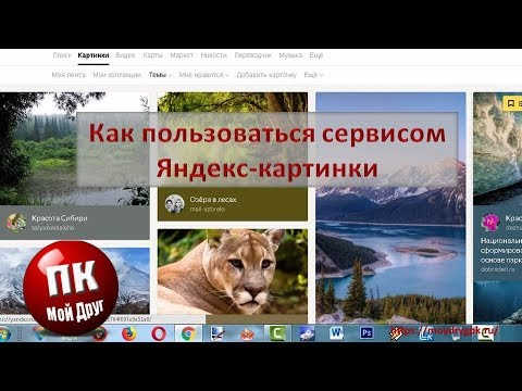 Как пользоваться сервисом яндекс-картинки