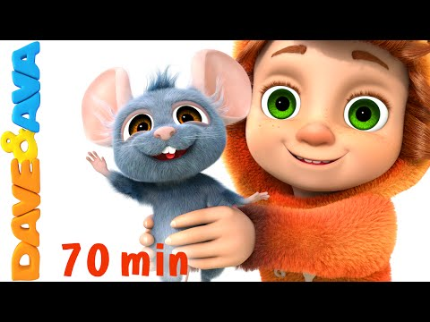 One Little Finger Part 2 | Nursery Rhymes Collection from Dave and Ava Baby Songs