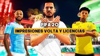 FIFA 20: Impresiones VOLTA y LICENCIAS
