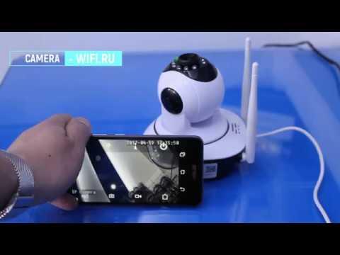 Настройка Ip Камеры через телефон