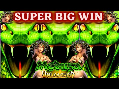 ✦BONUSES & BIG WIN$✦ On High Limit MEDUSA & ATHENA Unleashed Slots - $20 A Spins | Las Vegas Casino